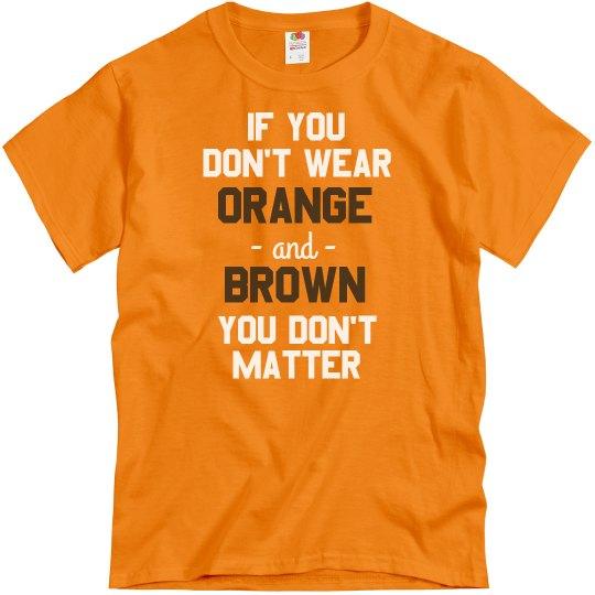 Orange & Brown Matters