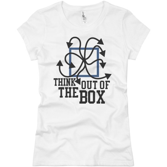 Out of the box t shirt ladies slim fit basic promo jersey for Design a shirt coupon