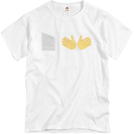 Paper Hands Emoji Stonk Market Tee