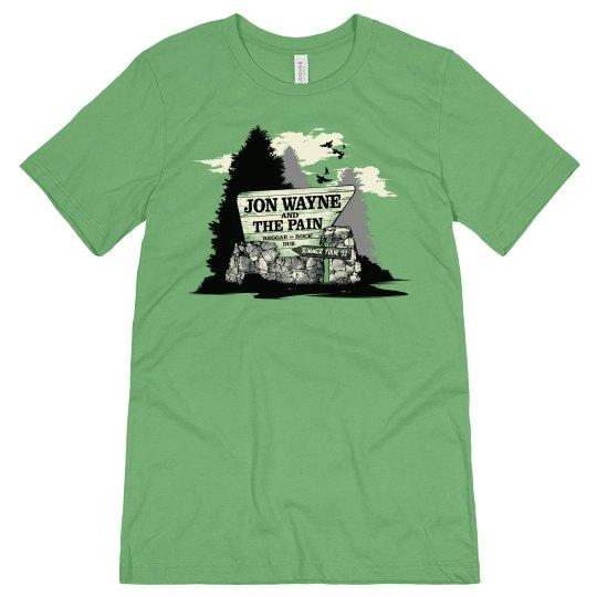 Parks and Rec Tee Green