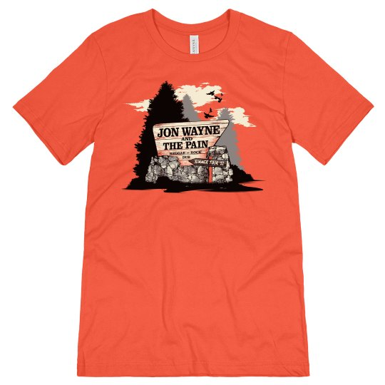 Parks and Rec Tee Orange