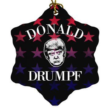 Patriotic Donald Drumpf