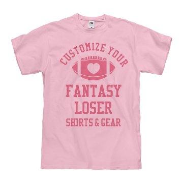Personalized Fantasy Football Loser