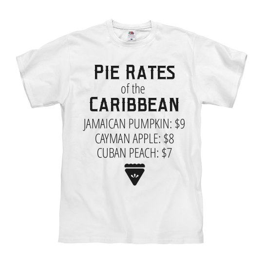 Pie Rates of the Caribbean