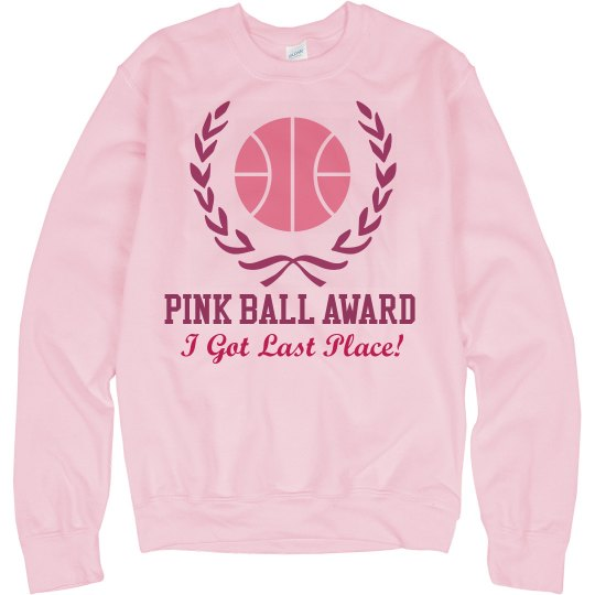 Pink Basketball Loser