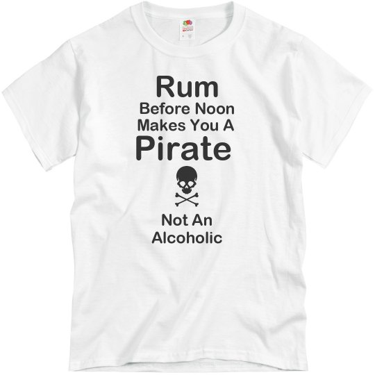 Pirates Drink Rum