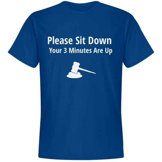 Please Sit Down
