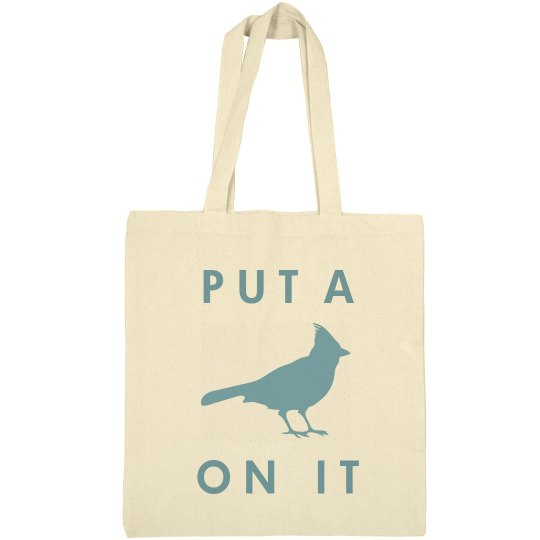 Portland Bird On It Tote