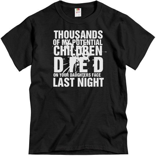 Potential Children Died