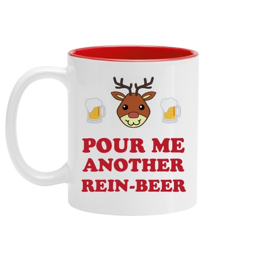 Pour Me Another Rein-Beer Right Now