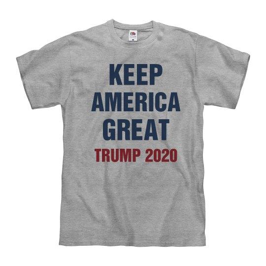 Pres Trump 2020 Keep America Great