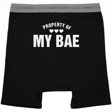 Property Of Bae Mens Underwear