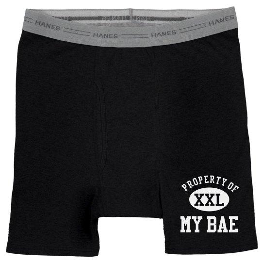 Property Of My Bae Underwear