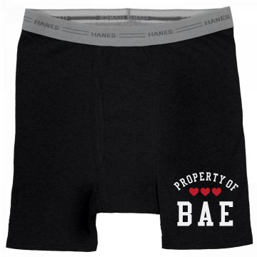 Property Of My Bae Valentine