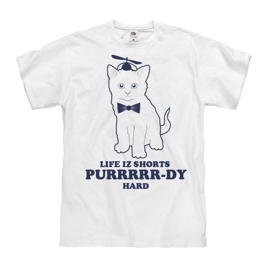 Purrrrr-dy Hard