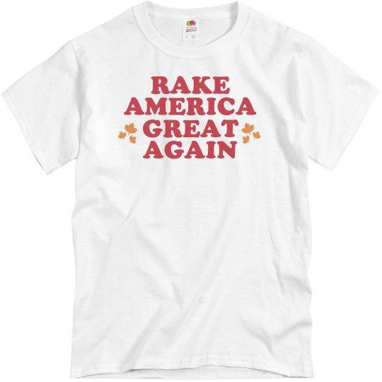 RAGA Rake America Great Again