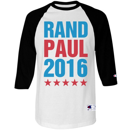Rand Paul 2016 Raglan