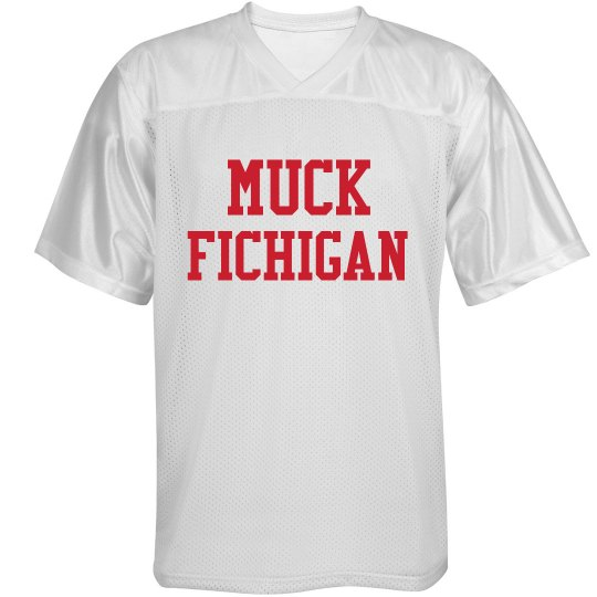 Red And White Muck Fichigan