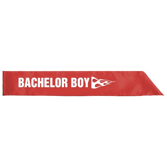 Red Flame Bachelor Boy