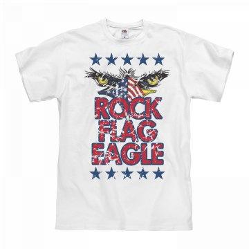 Rock Flag Eagle USA