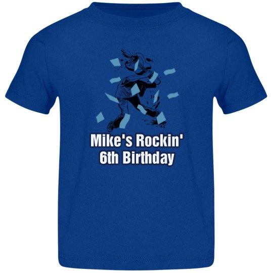 Rockin' 6th Birthday