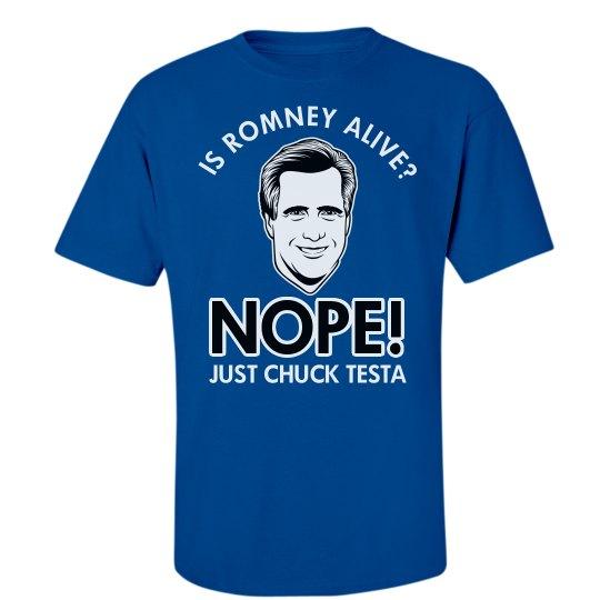 Romney and Chuck Testa
