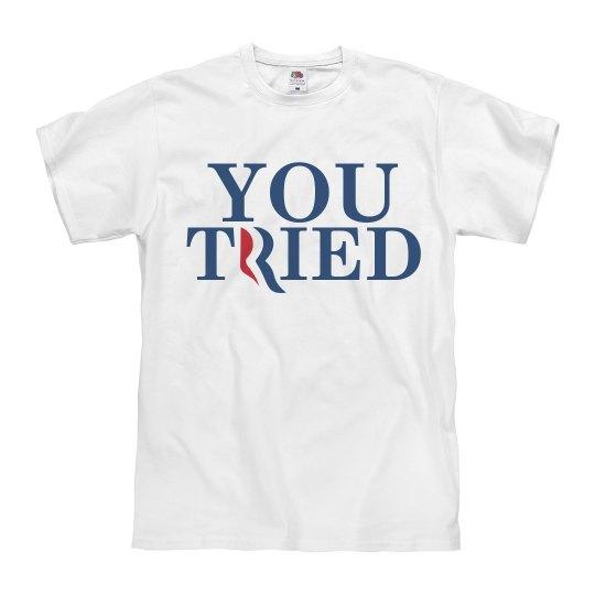Romney Tried
