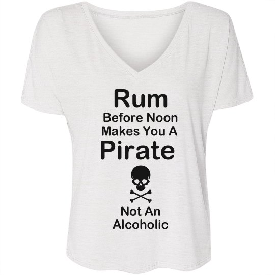 Rum Makes You A Pirate