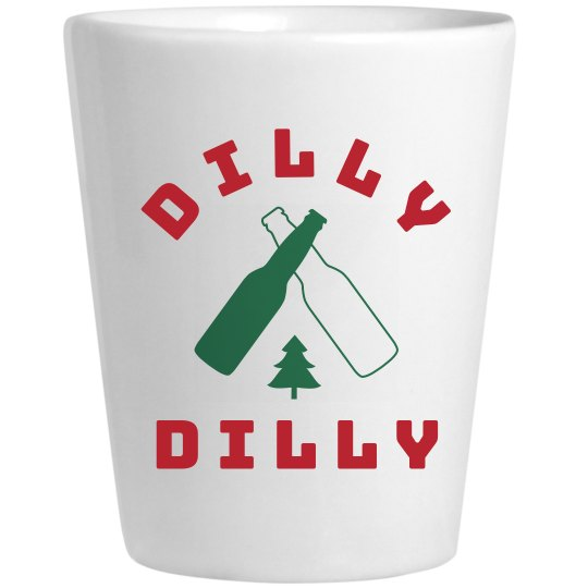 Rustic Dilly Dilly Christmas Design