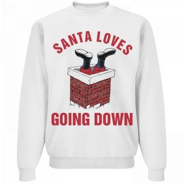 Santa Loves Going Down