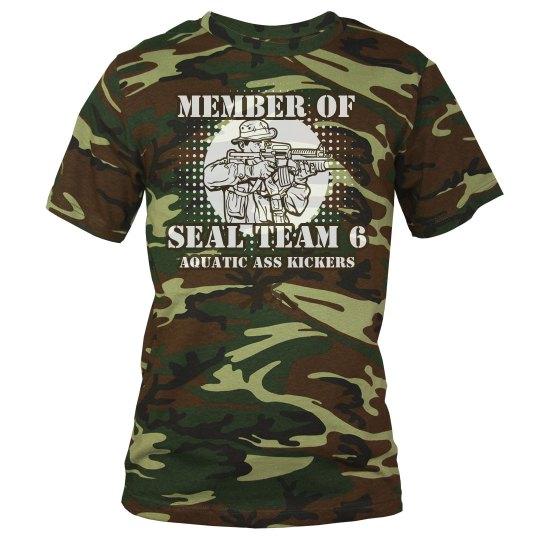 Seal Team Six Adult Tee