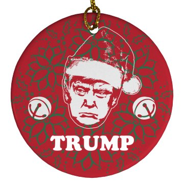 Simple Christmas Santa Trump