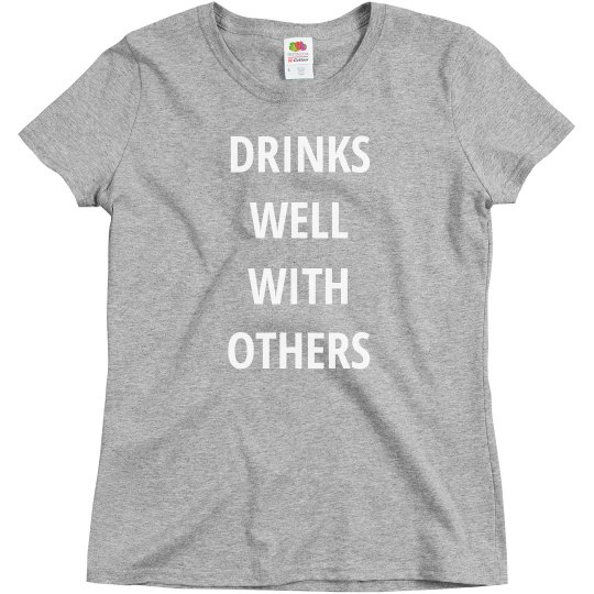 Simple Grey Drinks Well With Others