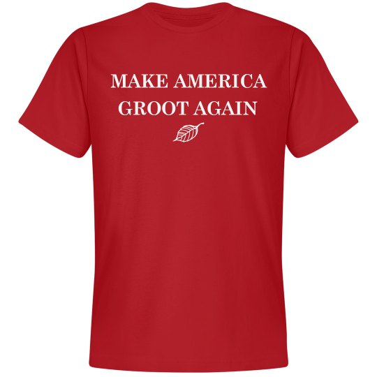 Simple Make America Groot Again