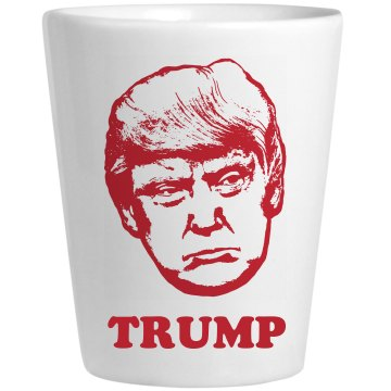 Simple Trump Bust Design