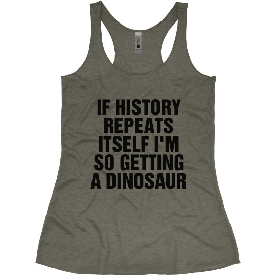 So Getting a Dinosaur