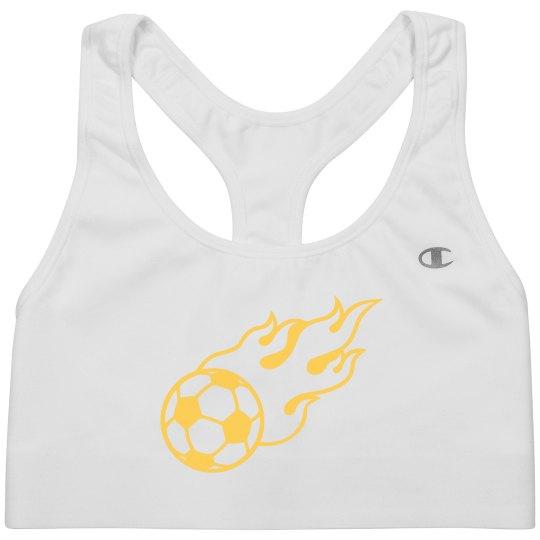 Soccer Ball Fire
