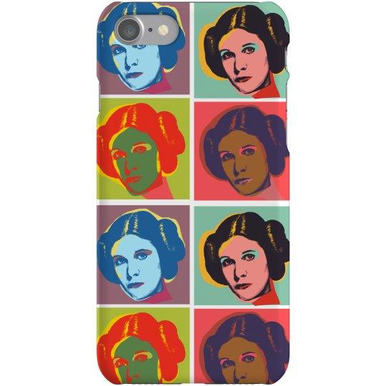 Space Princess Pattern Phone Case