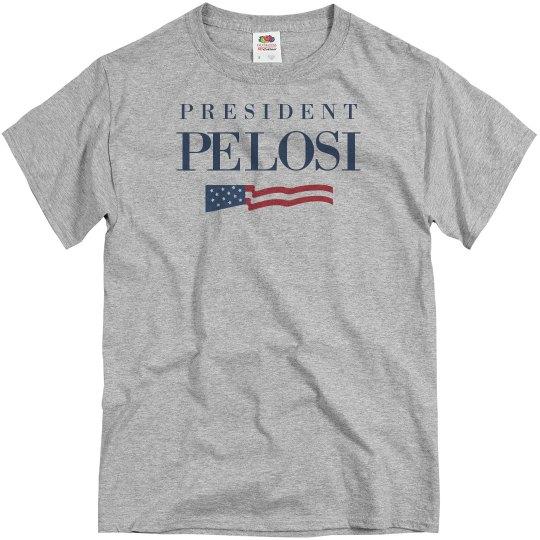 Speaker To President Nancy Pelosi
