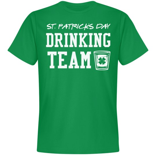 St Patricks Day Drinking Team