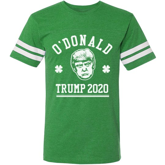 St. Patricks Day O'Donald Trump
