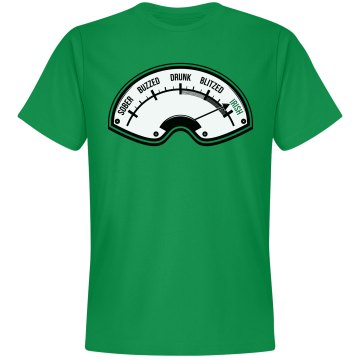 St. Patrick's Irish Drunk Meter