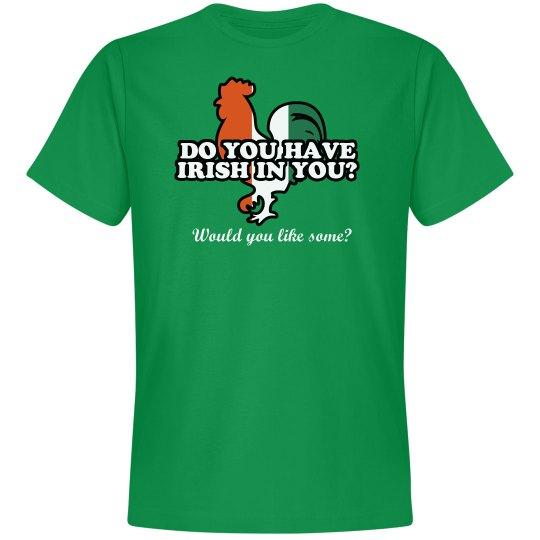 St Patrick's Irish in You