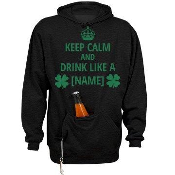 St. Patrick's Irish Pocket Beer