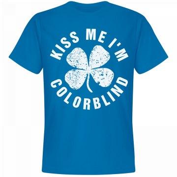 St. Patrick's Kiss Me I'm Blue