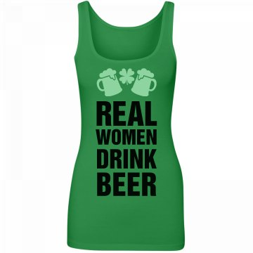St Pat's What Real Women Drink