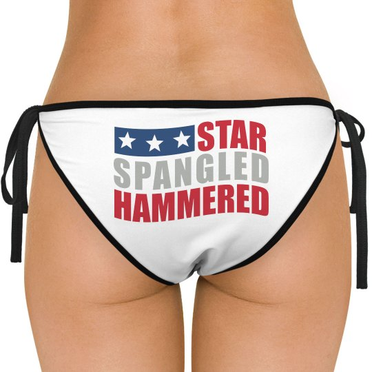 Star Spangled Swim Bottom