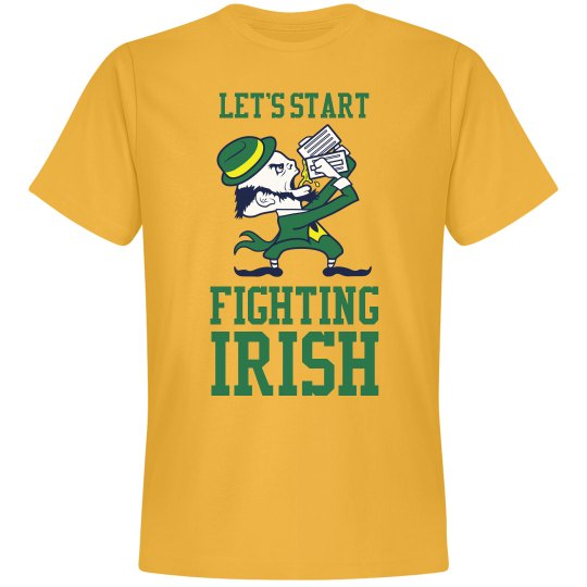 Start Fighting Irish