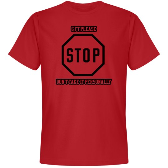 Stop, 6 Ft