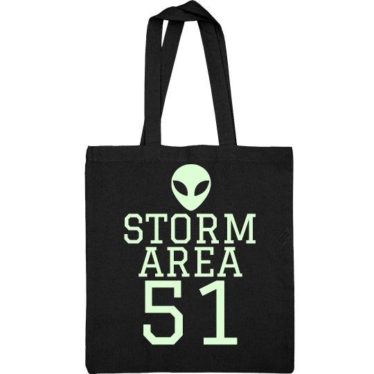 Storming Tote Bag